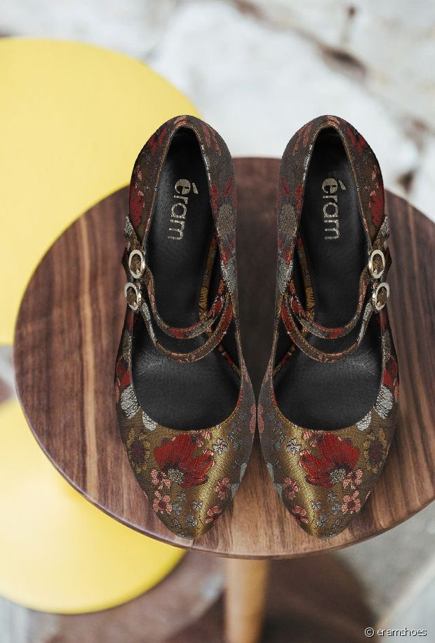 Sélection de chaussures imprimées tapisserie pour l'automne-hiver 2019-2020
