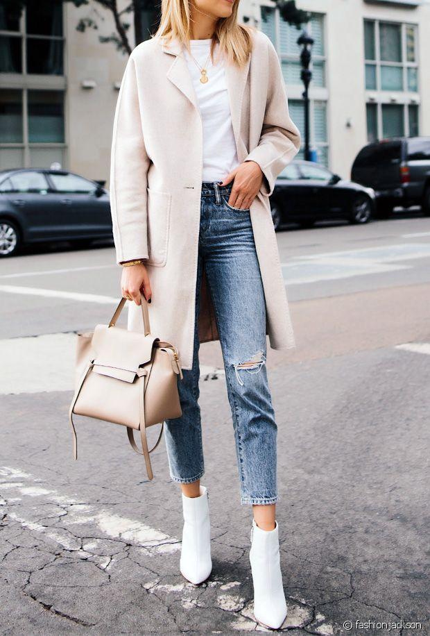 Comment porter des bottines blanches ce printemps-été 2020 ?
