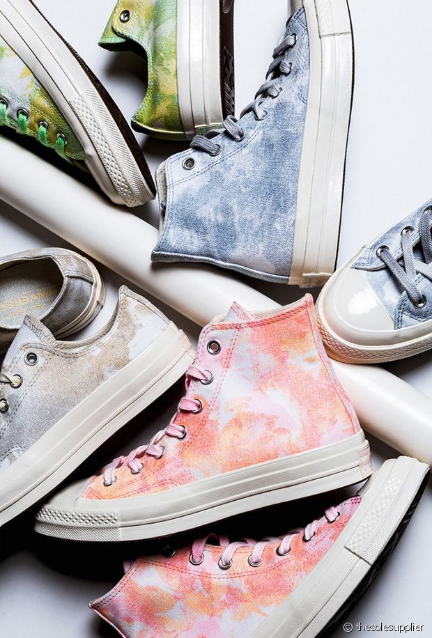 Baskets Tie and Dye : 10 paires de sneakers dégradées canons pour le printemps-été 2019