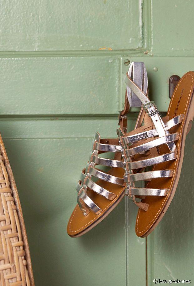 1493219f7f0ae4 Sandales argentées : comment porter les sandales métalliques cet été ?
