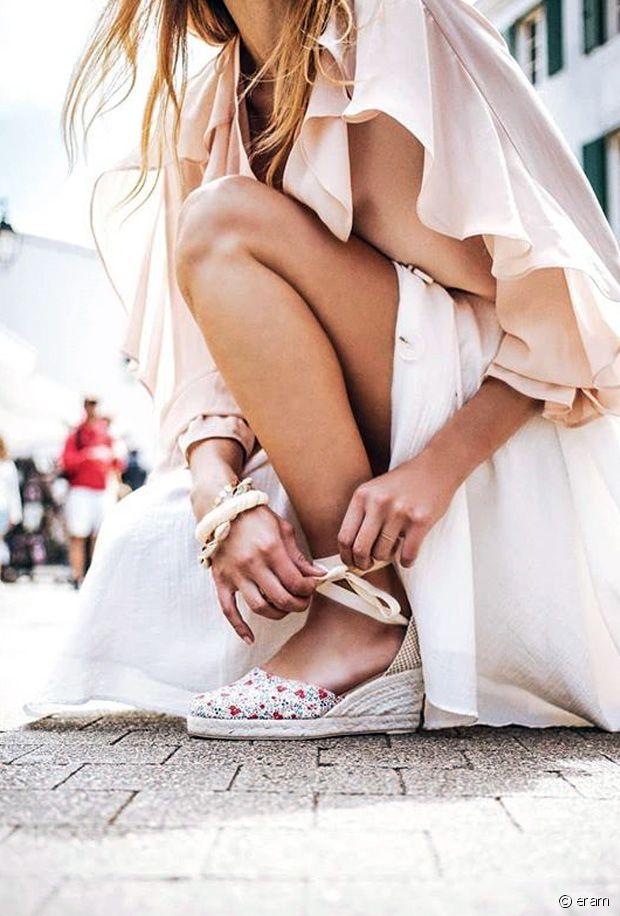 Chaussures Liberty : les plus belles chaussures fleuries de l'été 2019