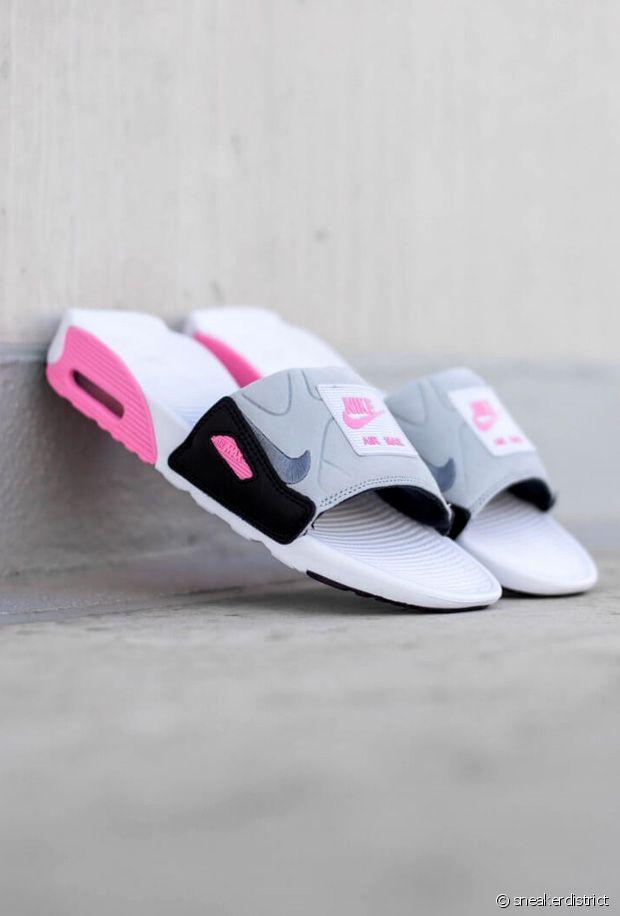 Nike dévoile sa paire de claquettes Air Max 90