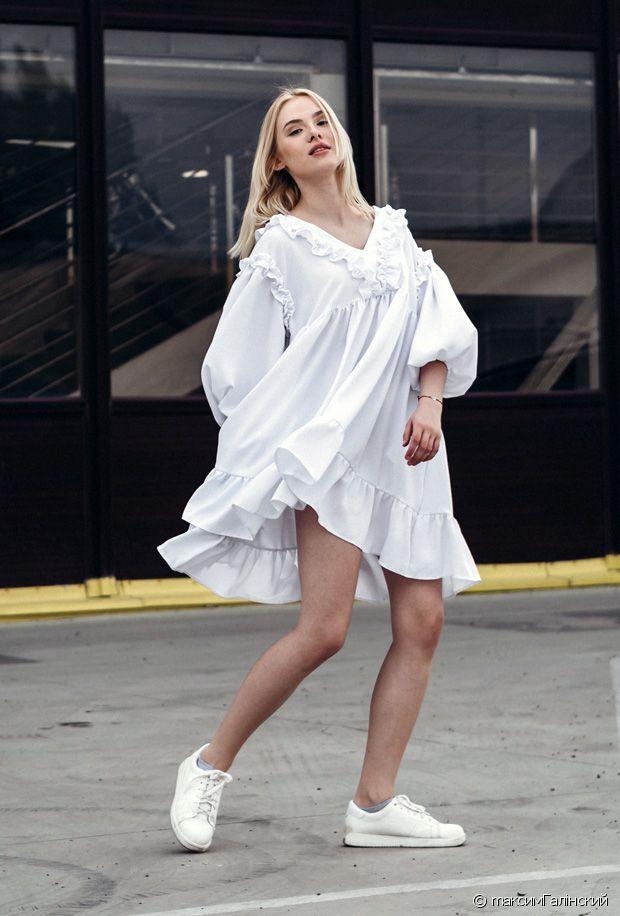 Quelles chaussures porter avec une robe blanche ?