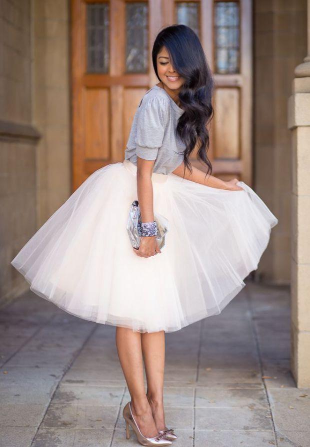 Une tenue de princesse pour les soirées habillées