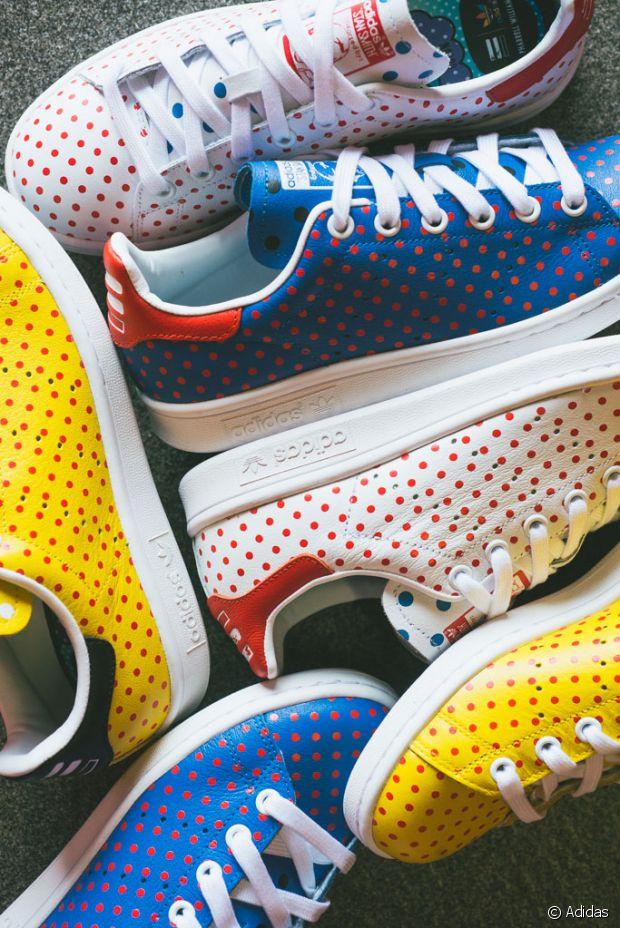 Pharrell Williams customise des Stan Smith pour Adidas Run
