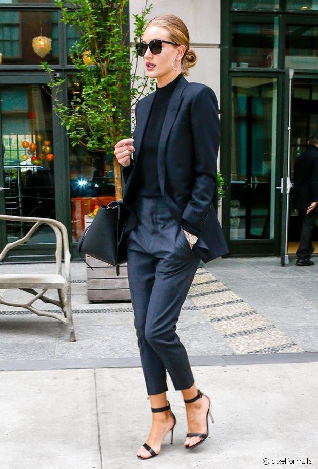 Un total look black très parisien