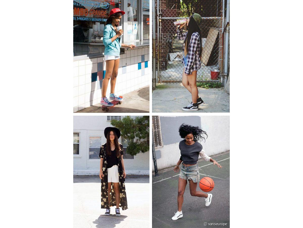 Vans Sk8 Hi : comment porter baskets montantes - Run Baby Run