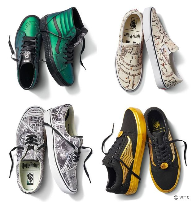 chaussure vans harry potter sepentar montante
