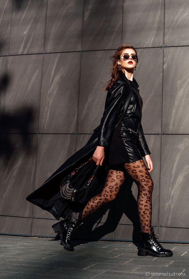 Quelles paires de chaussures porter avec des collants noirs ?