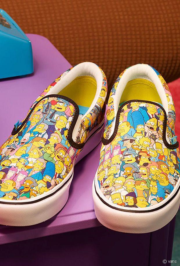 Vans x The Simpsons : la collection de baskets et d'accessoires qui rend hommage à la série TV