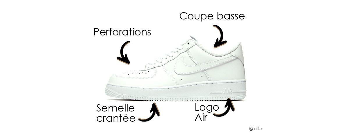 Nike Air Force 1 comment reconnaître les différents modèles de ...