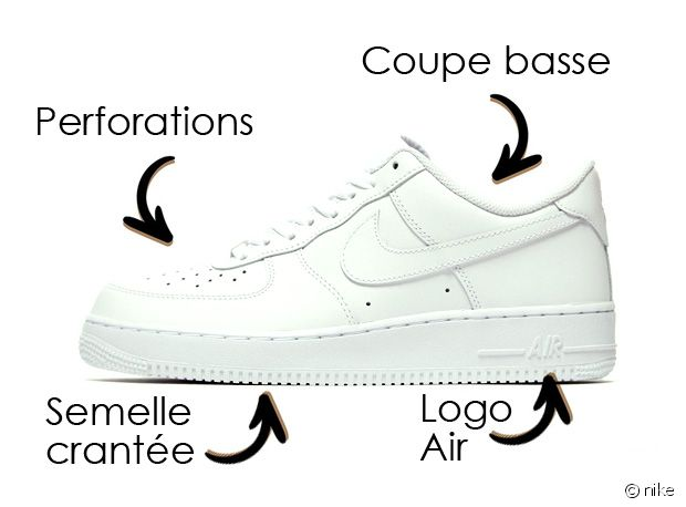 Les Nike Air Force 1 Low OG !