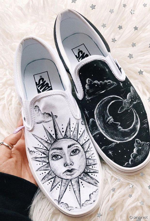 Do it yourself : nos plus belles idées de customisation pour des baskets en toile Vans