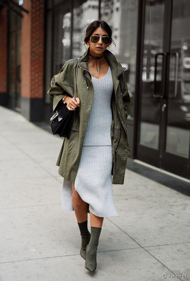 Chaussures Kaki : la tendance colorée de l'automne hiver