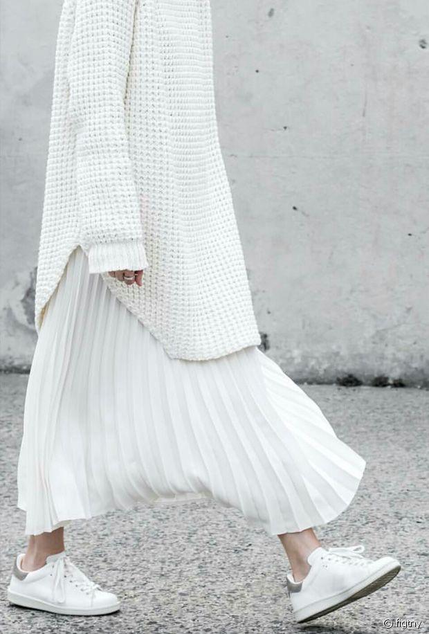Petit guide tu total look blanc en hiver
