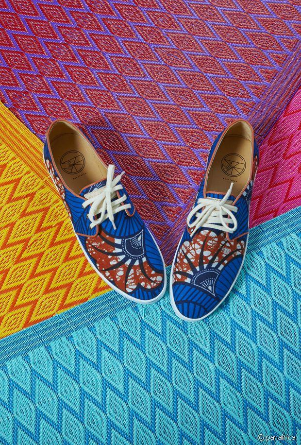 Panafrica : les jolies chaussures wax ethniques