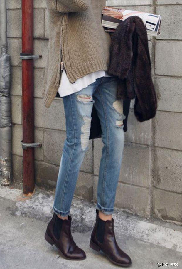 d4d3f0a5cff Comment porter des chaussures marron chocolat cet hiver