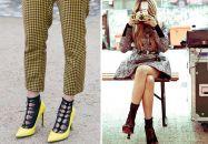 Les chaussettes en dentelle pour modeuses ultra-stylées