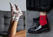 Les chaussettes imprimées pour la petite touche rigolote
