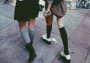 Mesdames : sortez vos plus belles chaussettes !