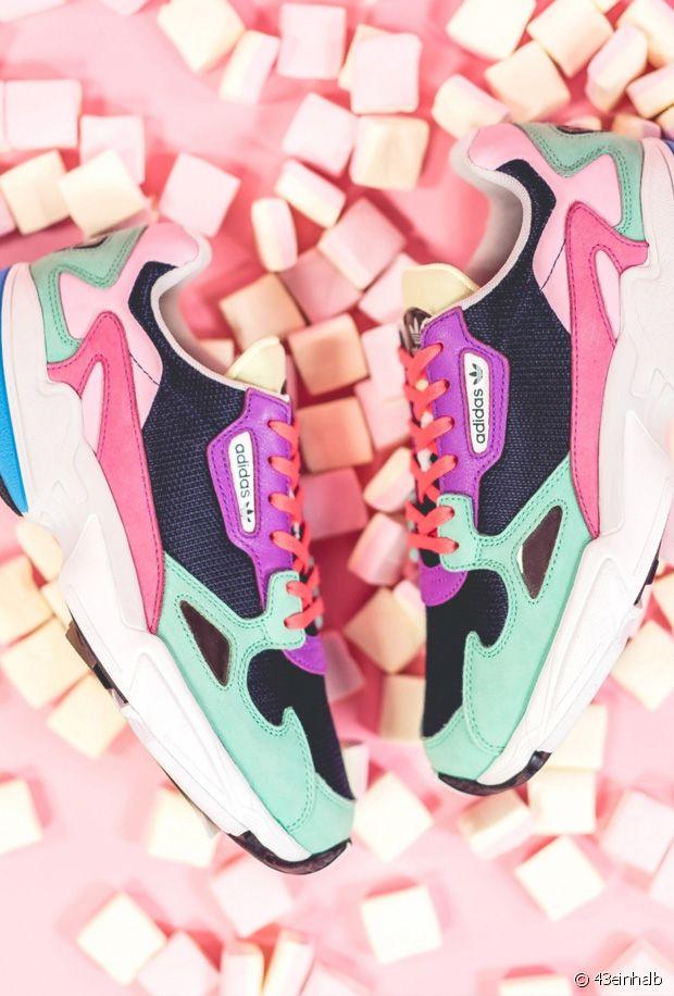 baskets adidas falcon 2 nouveaux coloris pour le printemps ...
