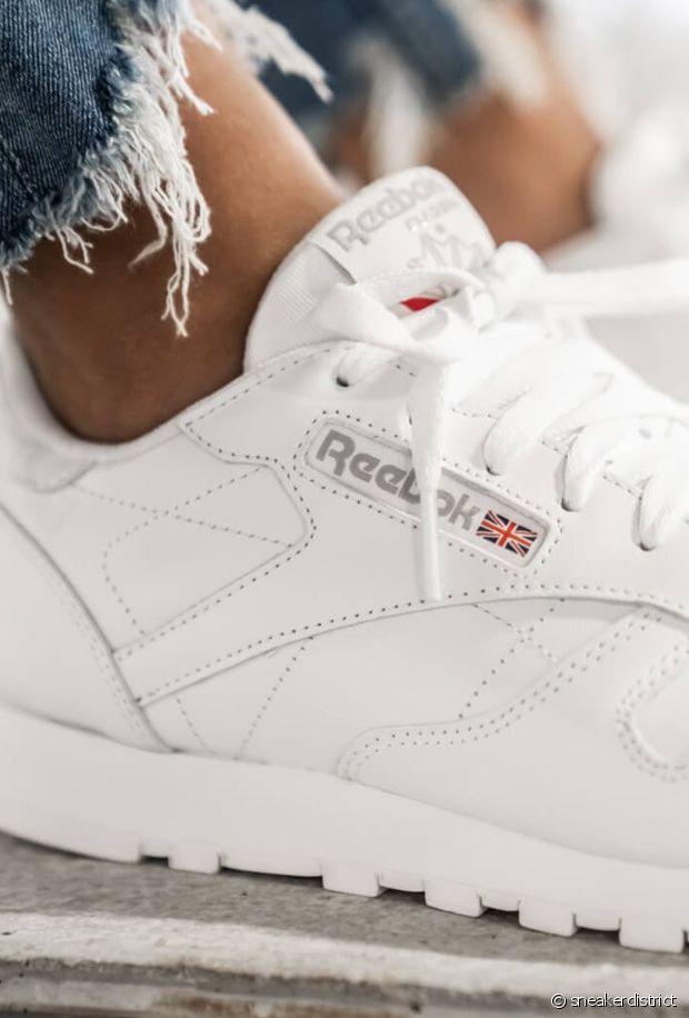 Baskets blanches : 10 paires de sneakers canons pour le printemps-été 2021