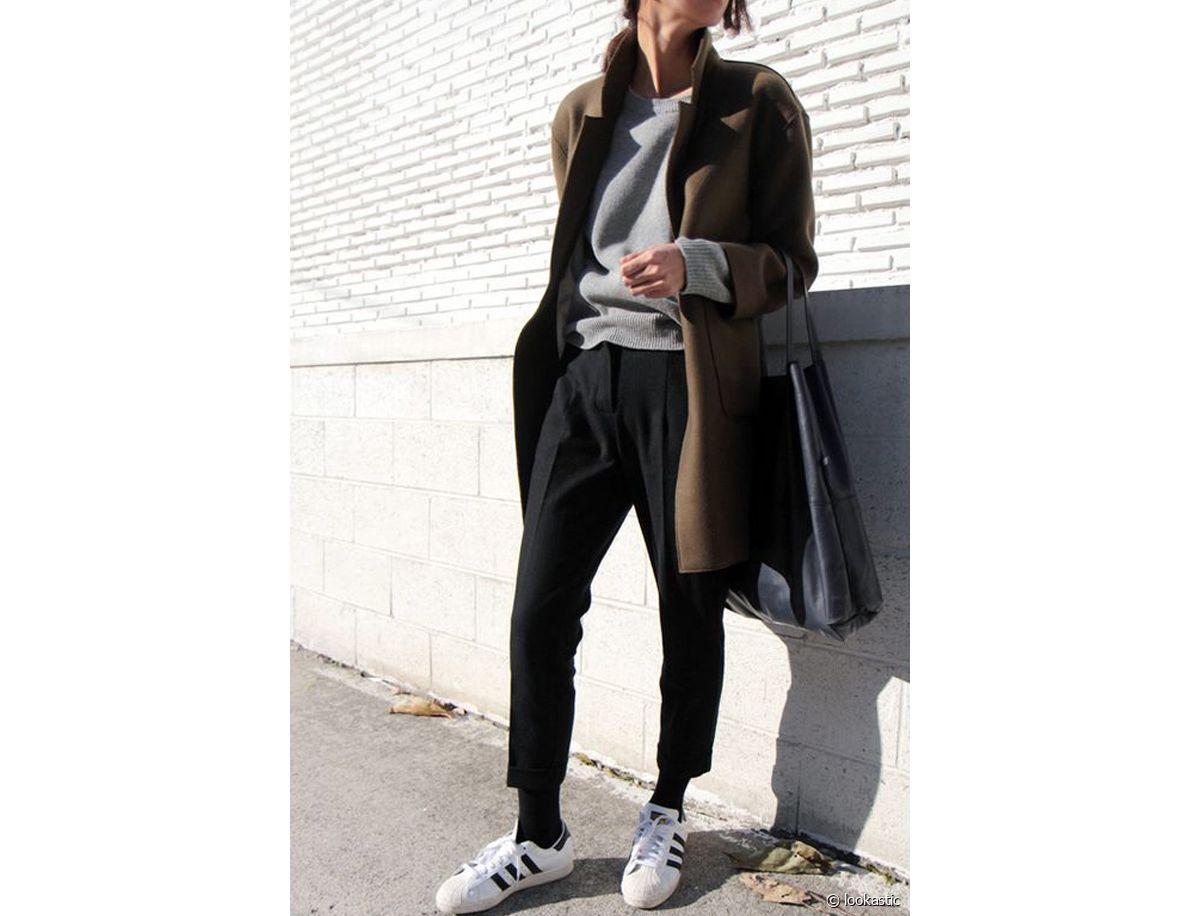 Superstar d'Adidas : 1 paire de baskets, 3 idées de looks