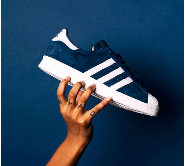 Adidas lance un pack de Superstars en daim Run Baby Run