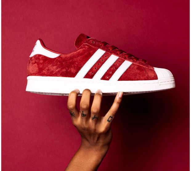 superstar adidas velours