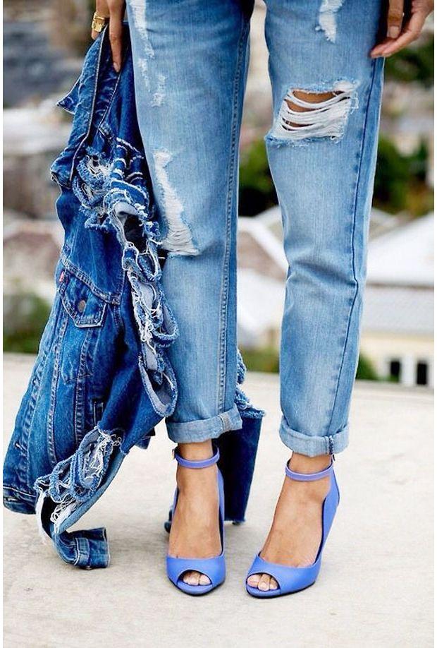 Sélection chaussure bleues outre-mer