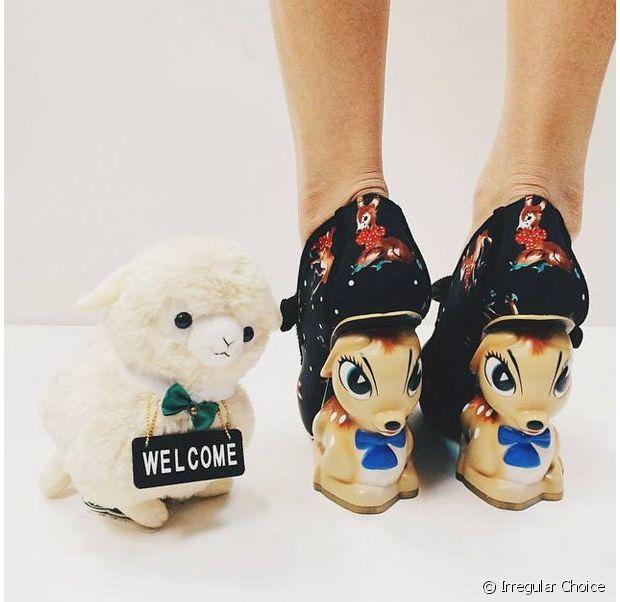 Avez-vous déjà vu des chaussures à talons Bambi ? Maintenant, oui.