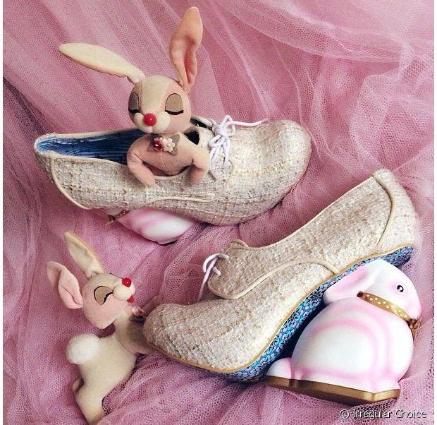 Les talons lapins pour faire sensation à Pâques