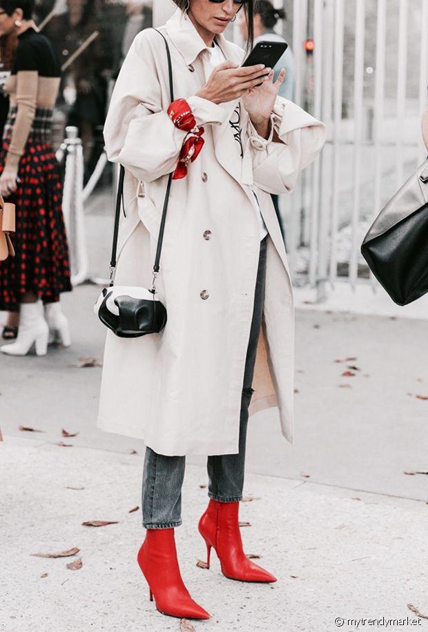 10 paires de bottines rouges pour colorer l'hiver
