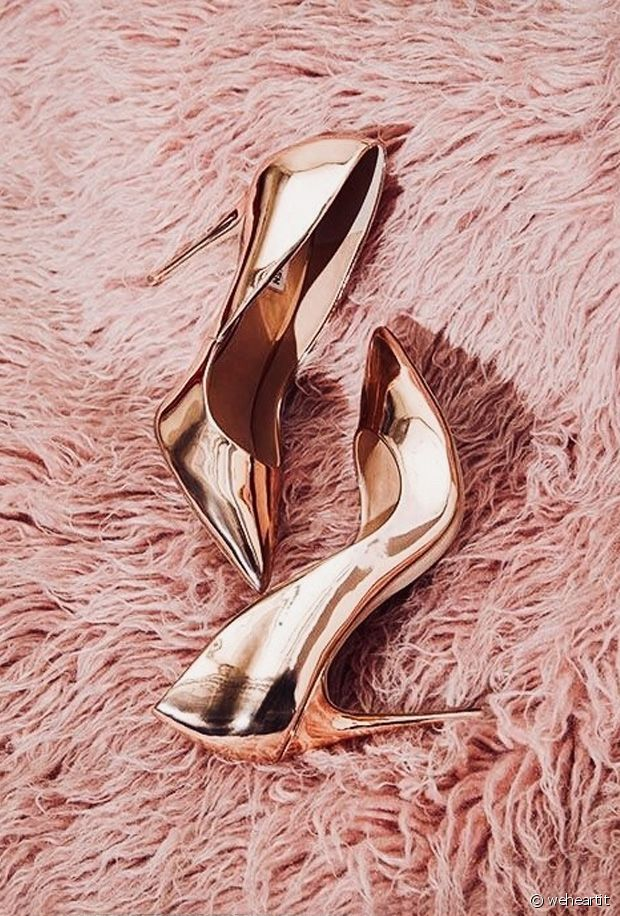 Royaume-Uni disponibilité 1d76b f1ff2 selection d escarpins rose gold pour le printemps - Run Baby Run