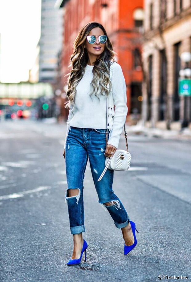 Chaussures à talons JONAK T37 bleue jeans