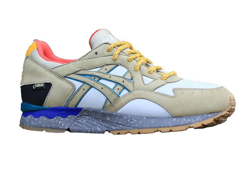 Les runnings gels d' Asics  x Bodega (160€)