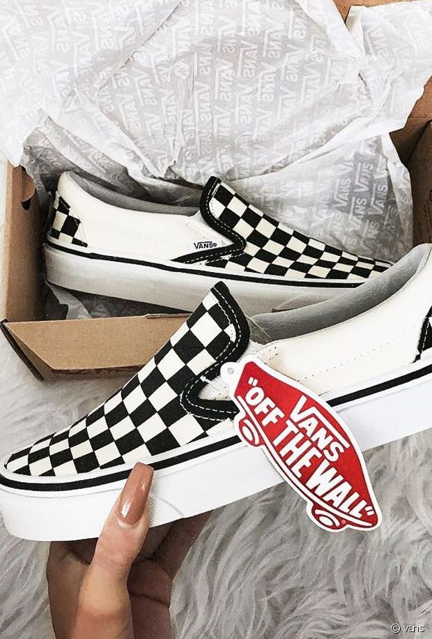 baskets Vans a damiers 10 paires de sneakers canons - Run ...