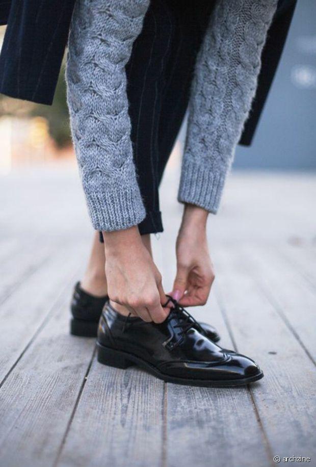 Les chaussures fermées comme le derbies ont besoin de temps pour s'assouplir et devenir confortables