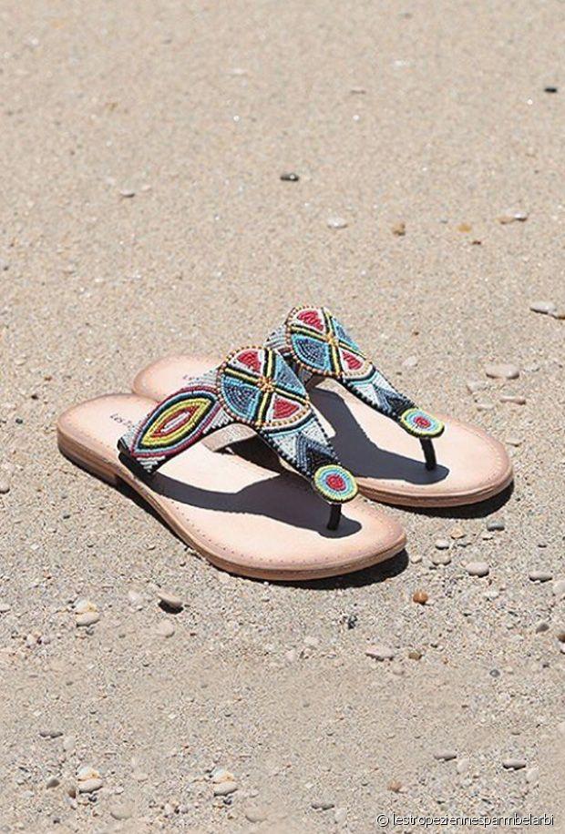 Sélection de sandales à perles pour le printemps-été