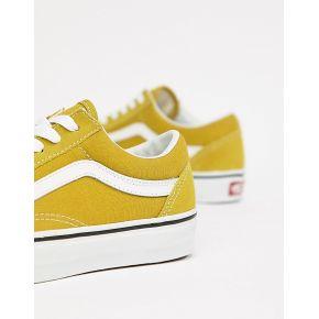 Femme vans - old skool - baskets - moutarde - vert