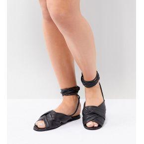 Femme asos design wide fit - valley - sandales...
