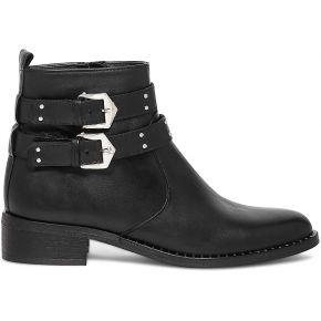Boots noir à brides cloutées noir eram
