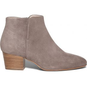 Boots taupe en cuir velours taupe eram