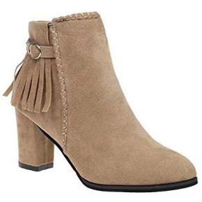 Boots chelsea hiver automne martin bottes suédé...