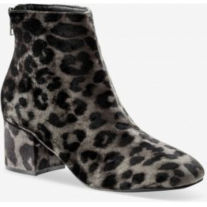 Blancheporte-femme noir / kaki boots à talon en...