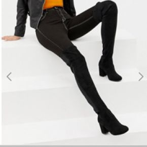 Femme asos design tall - kadi - cuissardes...