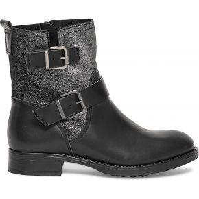 Boots col irisé cuir noir noir eram