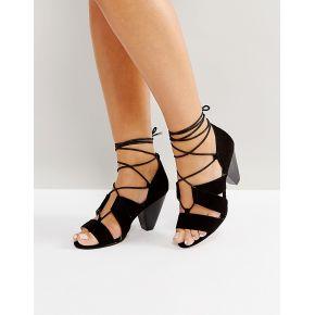 Femme asos tall - sandales à talons et à lacets...