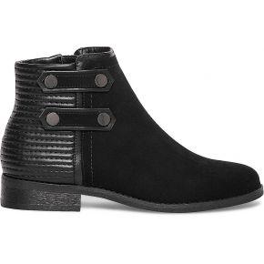Boots matelassé boucles noir noir eram