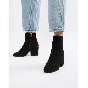 Femme asos design - eve - bottines - noir